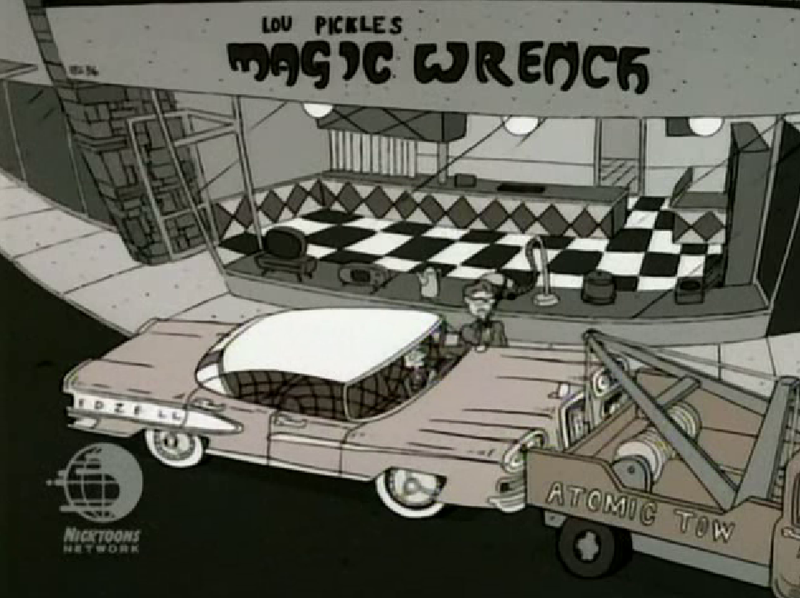 Illustration for article titled Spotted a Ford Edsel in Rugrats