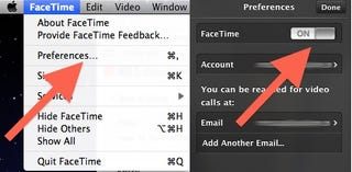 Illustration for article titled How To Turn Off FaceTime For Mac