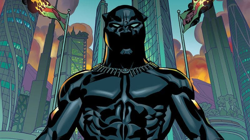 Illustration for article titled Coates and Stelfreeze's Black Panther delivers one of 2016's best first issues
