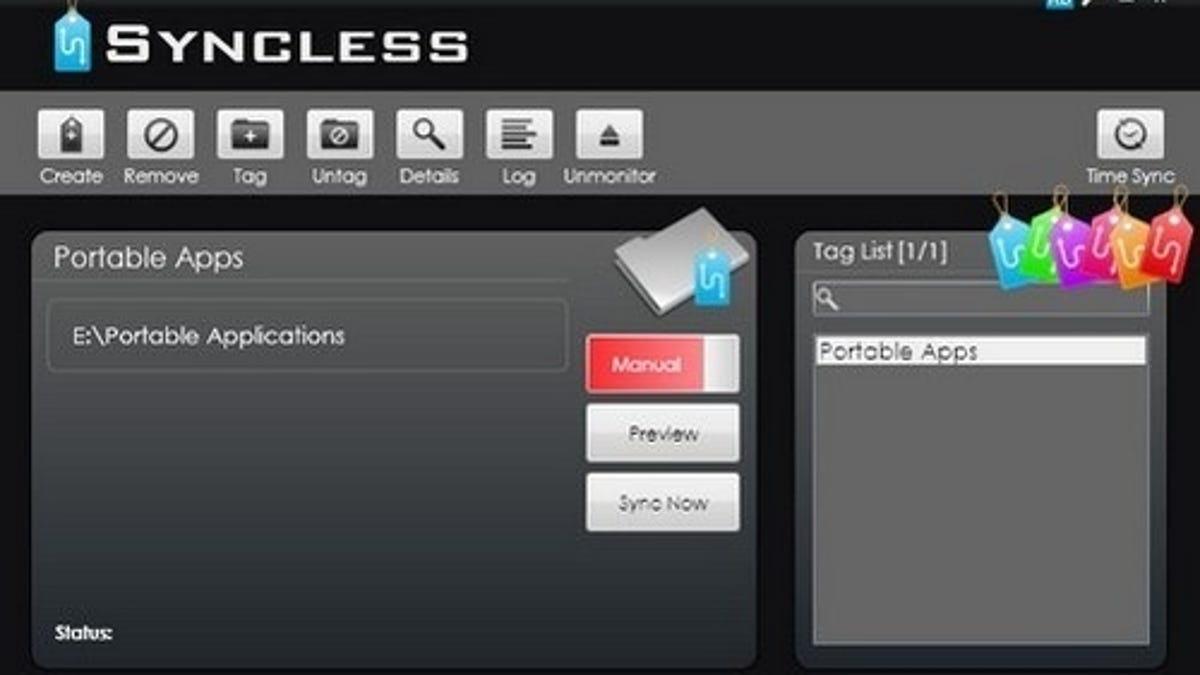 Syncless Is a Tag-Based File Synchronizer