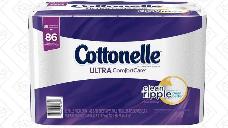 Cottonelle Ultra ComfortCare 36 Rolls, $16 with Subscribe & Save and 20% coupon.