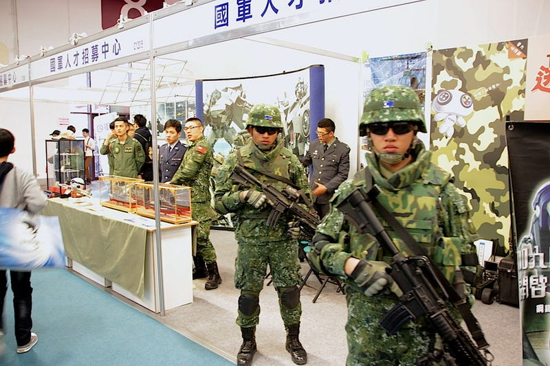 Illustration for article titled Taiwan's Military Scouts Recruits at Game Expo