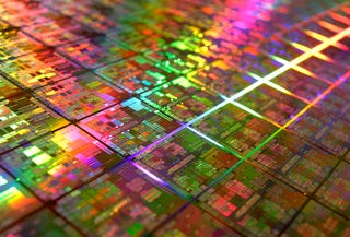 Illustration for article titled AMD Finally Shows Off Its 45nm Processors