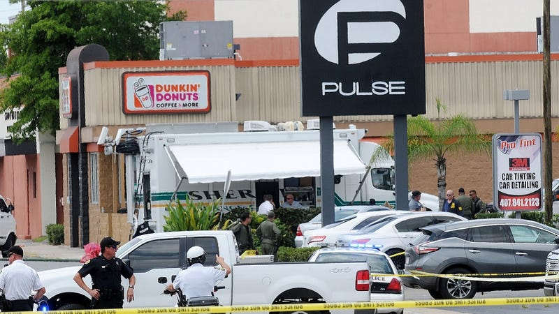 Illustration for article titled Shooting at an Orlando Gay Club Leaves 50 Dead, 53 Wounded