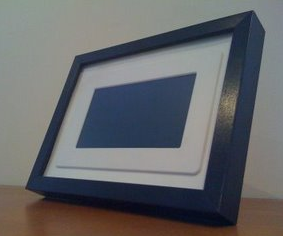 digital photo frames are nice but theyre not always terribly attractive diy weblog ikea hacker details how to spice up your new digital photo frame with
