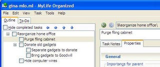 Illustration for article titled Download of the Day:  My Life Organized (Windows)