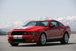 Illustration for article titled 2008 Shelby GT500KR Hits The Dyno, Gets 50 More Horses Than Ford Claims