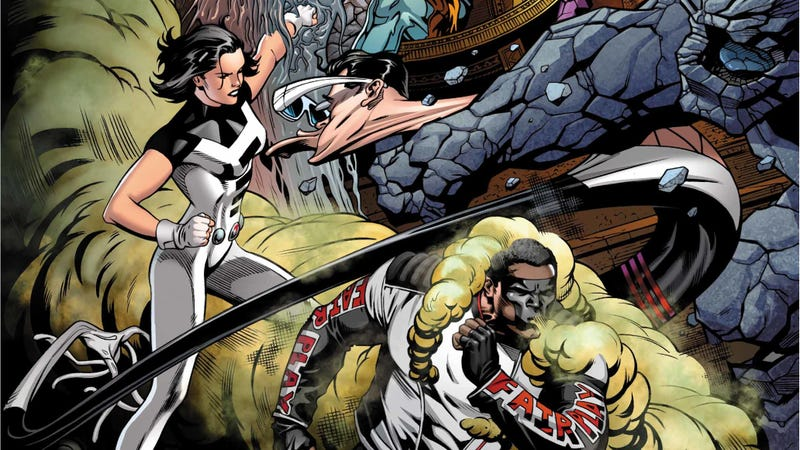 Illustration for article titled Witness a day in the life of The Terrifics in this exclusive preview