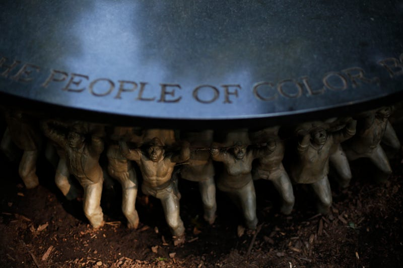 The Unsung Founders Memorial at the University of North Carolina—Chapel Hill