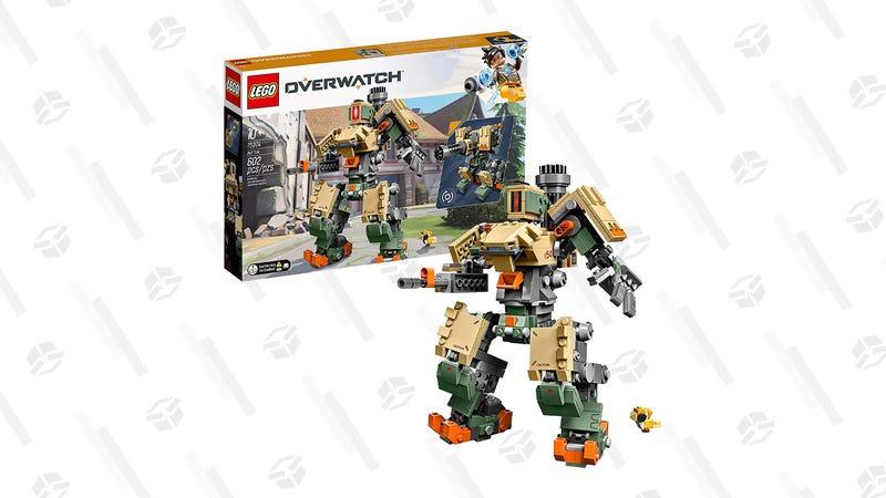 LEGO Overwatch 75974 Bastion Building Kit | $40 | Amazon