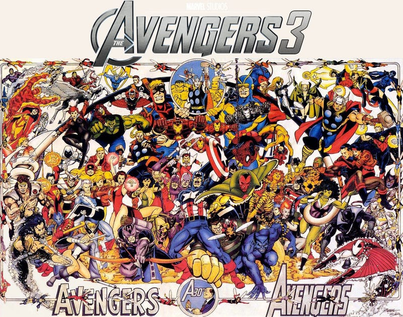 Illustration for article titled Progression of The Avengers Franchise