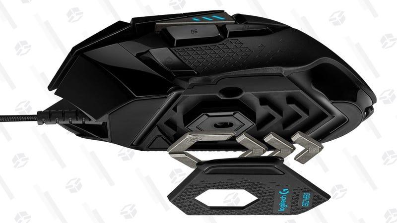 Logitech G502 HERO Gaming Mouse   $52   Amazon