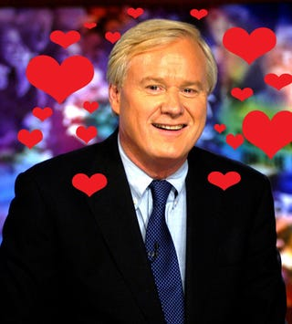 "Illustration for article titled My Inexplicable Love For Chris Matthews Explained By ""The John Mayer Effect"""