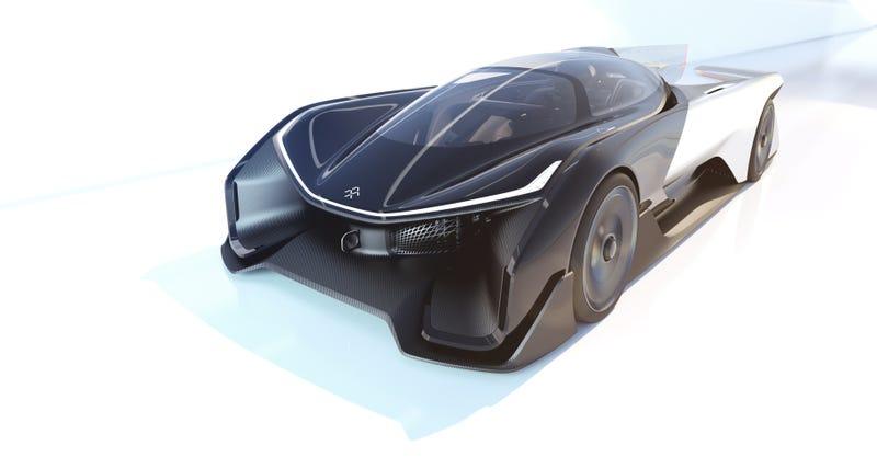 FFZERO1 concept car rendering. Credit: Faraday Future