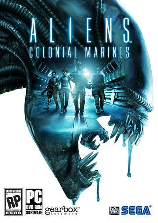 Illustration for article titled The Good Guys Have Already Lost on the Cover of Aliens: Colonial Marines