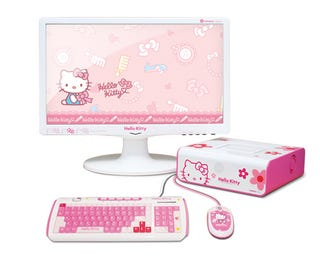 Illustration for article titled Hello Kitty Violates The Minew A10 PC
