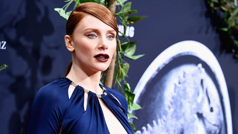 Illustration for article titled Bryce Dallas Howard Will Not Be Running in Heels in Jurassic World 2