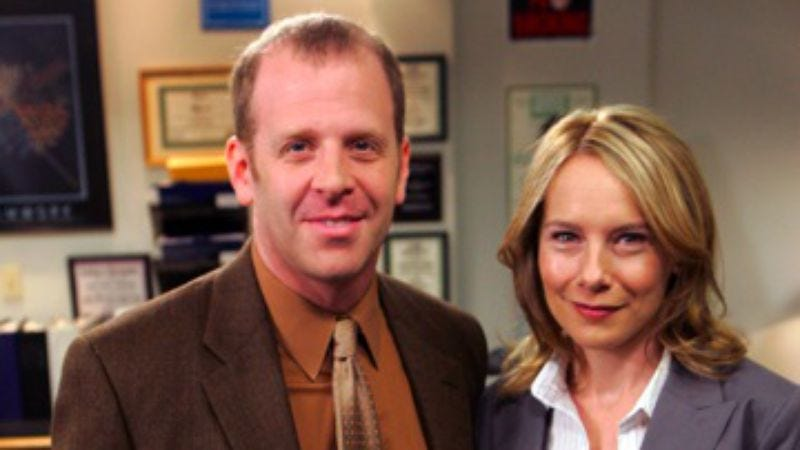 The Office Goodbye Toby