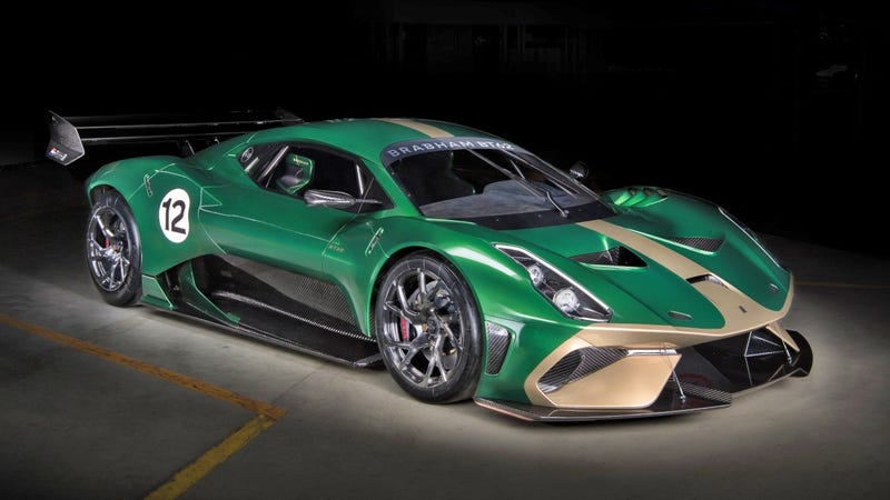 Illustration for article titled The $1.3 Million Brabham BT62 Track Car Can Be Made Road Legal for Just $200,000 Extra