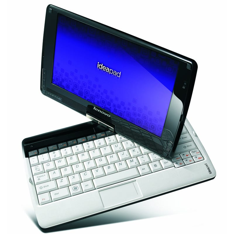 Illustration for article titled Netbook Tablets Get Capacitive Multitouch With the IdeaPad S10-3t