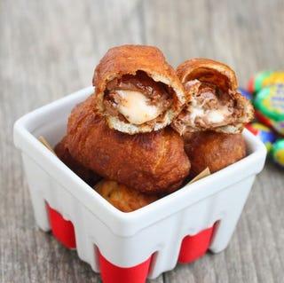Illustration for article titled Deep-fried Easter Creme Eggs