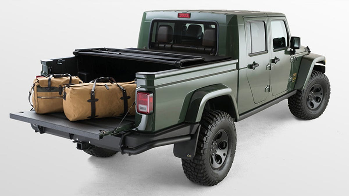 Aev Brute Double Cab Wrangler Pickup Gets Land Rover Level Luxury