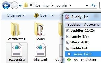 Illustration for article titled Use Dropbox to Sync Your Pidgin Profile Across Multiple PCs