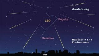 Illustration for article titled How To Watch Tonight's Leonid Meteor Shower