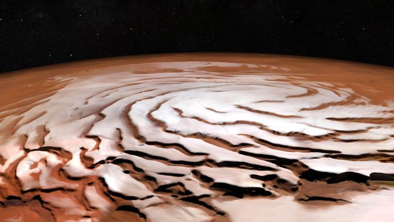 Image: ESA/DLR/FU Berlin; NASA MGS MOLA Science Team