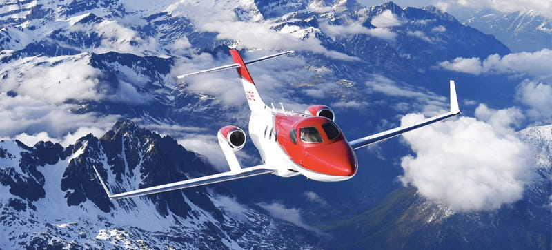 Illustration for article titled The HondaJet Is Officially Airworthy And Already On The Assembly Line