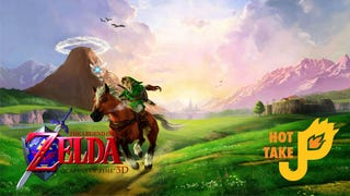 Illustration for article titled Hot Take: The Legend of Zelda: Ocarina of Time 3D (3DS)