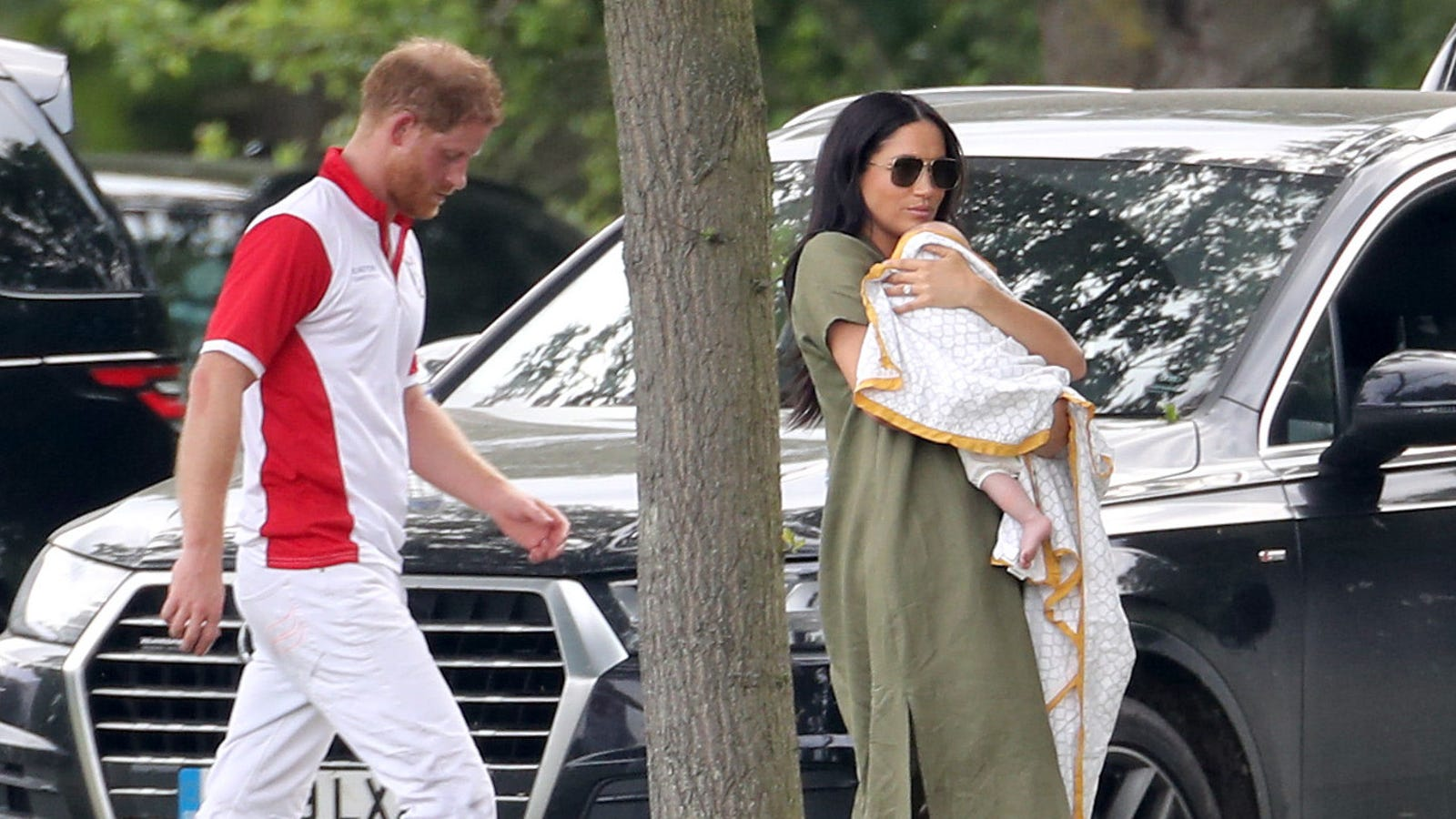 Harry and Meghan Are Officially Off to Africa with Archie