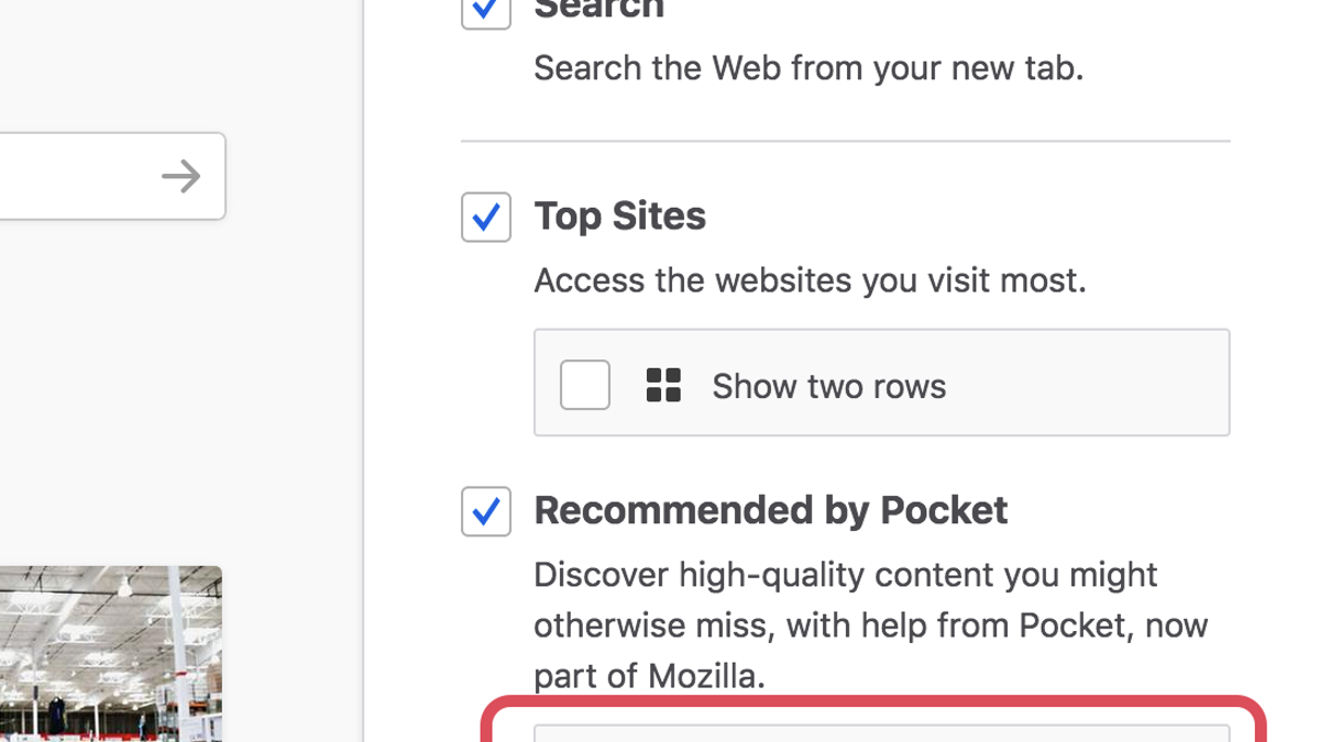 How to Stop Mozilla From Sticking Ads in Your Firefox Browser