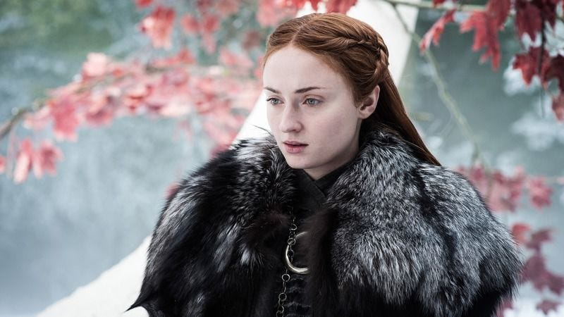 Game of Thrones'Sophie Turner describes reading the series finale