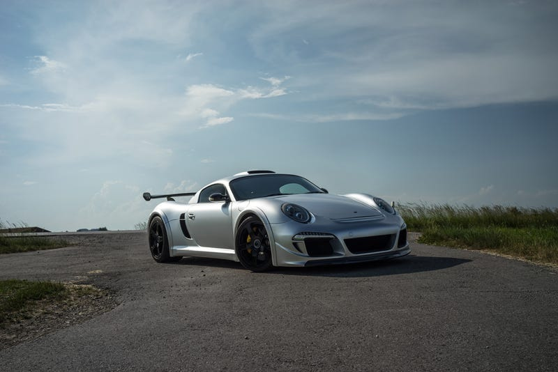 Illustration for article titled Craving a RUF CTR3 Clubsport.