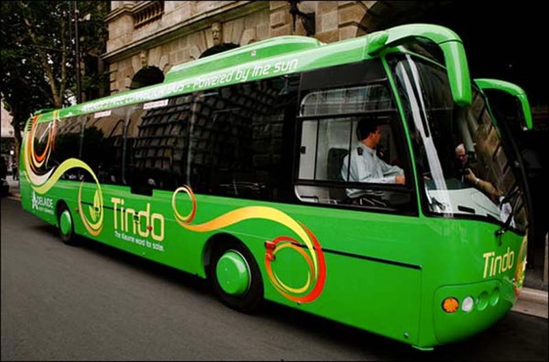 Illustration for article titled Adelaide's Solar Buses Could Be the World's Greenest Public Transports