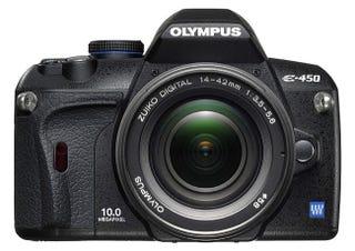 Illustration for article titled Olympus E-450 Improves Slightly On E-420 Entry-Level DSLR