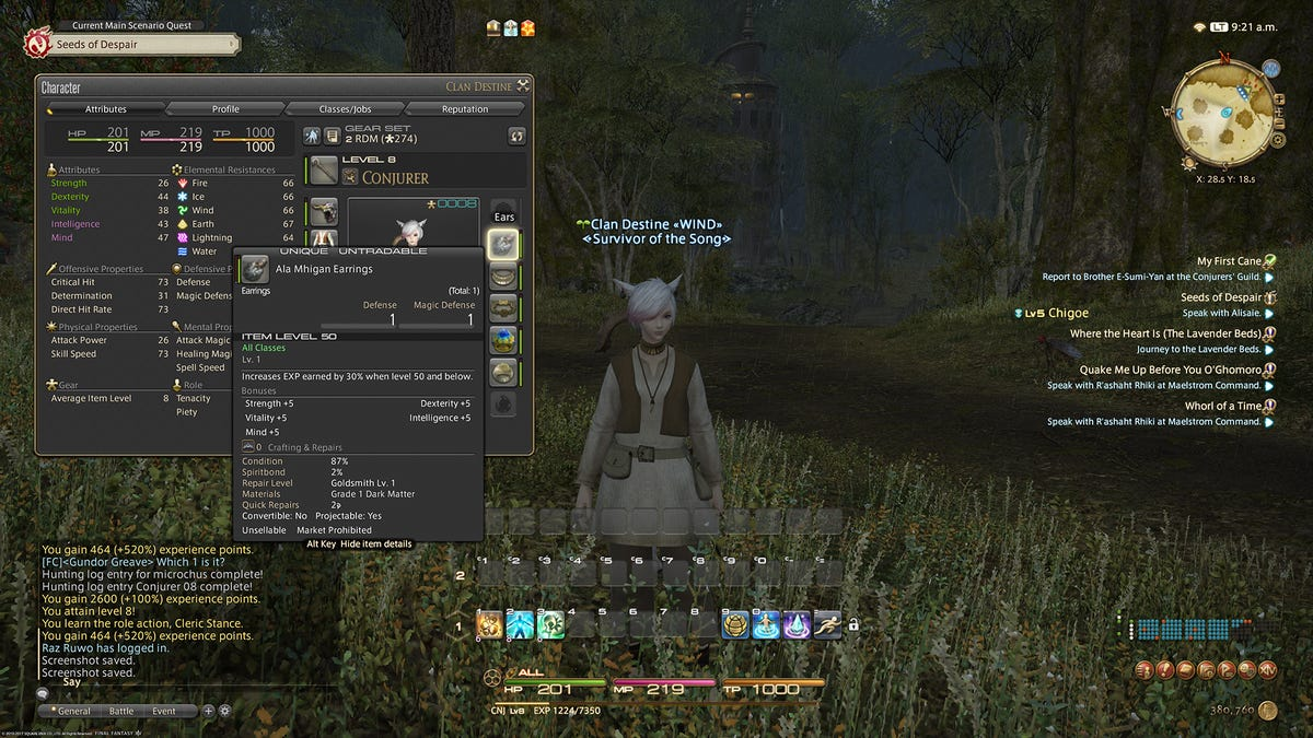 It's A Great Time To Level Up A New Job In Final Fantasy XIV