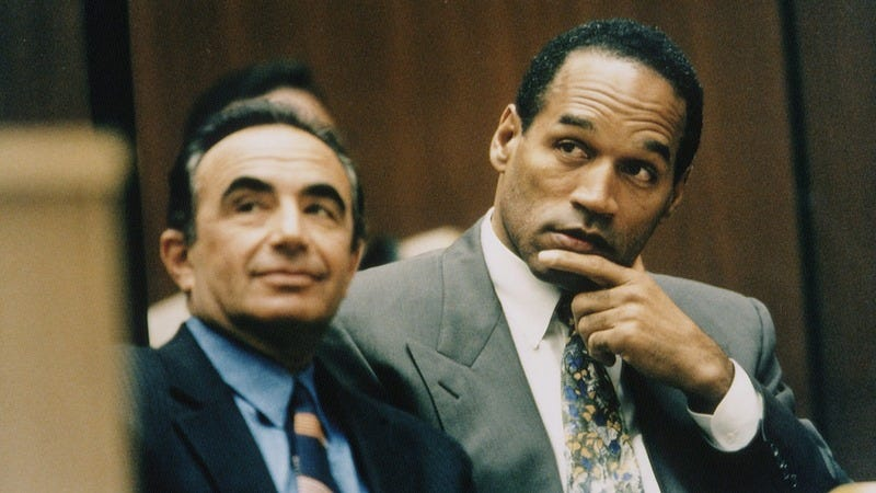 O.J. Simpson on trial.