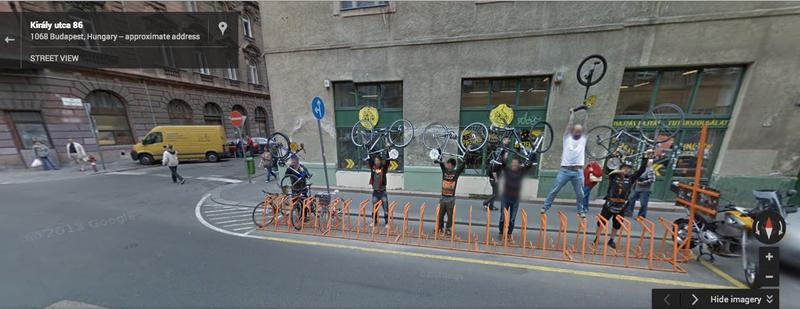 Illustration for article titled Ezt nézd meg, mit mutat a Google a Király utca 86-nál!