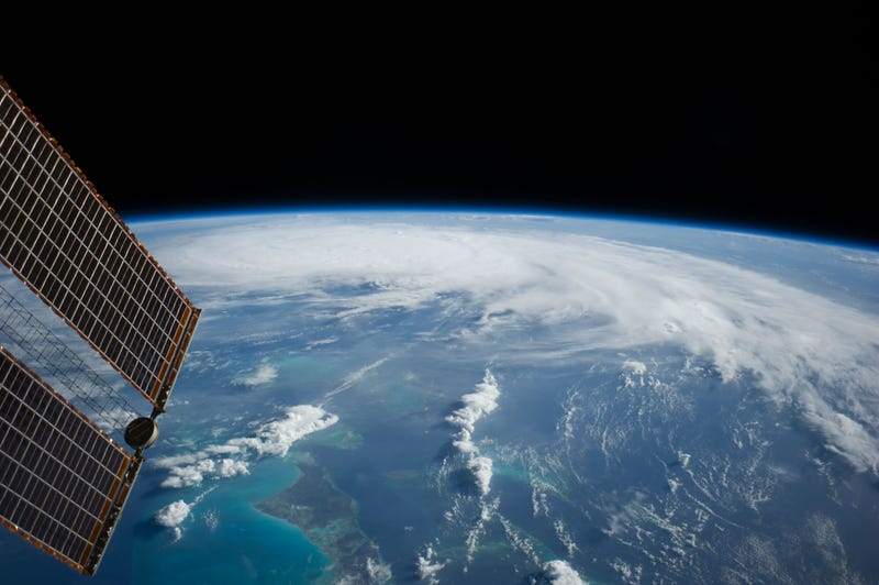 Illustration for article titled Hurricane Arthur Looks Even More Ominous When Seen From Space