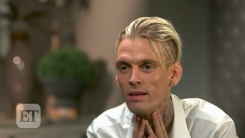 Aaron Carter Encounters Car Accident, Shares Details To Fans