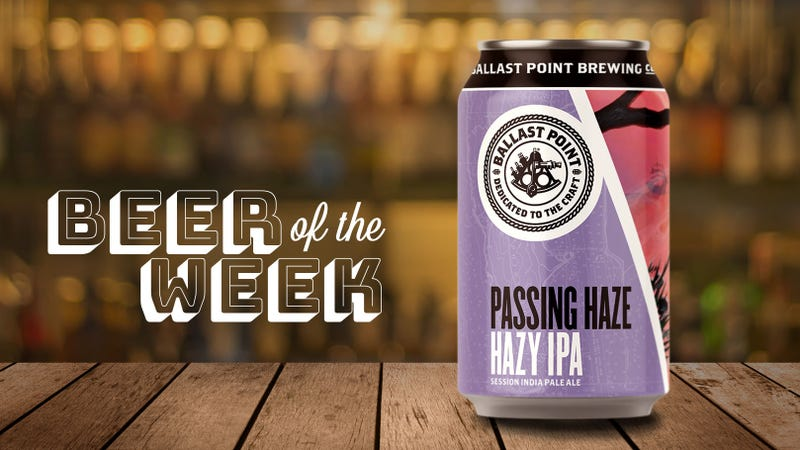 Illustration for article titled Beer Of The Week: Ballast Point Passing Haze offers lighter take on hazy IPAs
