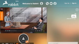 Illustration for article titled Rabbit Lets You Watch Netflix, YouTube, Browse the Web with Friends