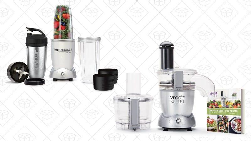 NutriBullet PRIME 12-Piece High-Speed Blender | $60 | AmazonNutriBullet Veggie Bullet | $70 | Amazon