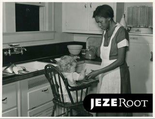 Domestic worker in Atlanta in May 1939