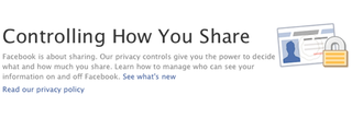 Illustration for article titled A Guide to Facebook's New, Simpler Privacy Controls