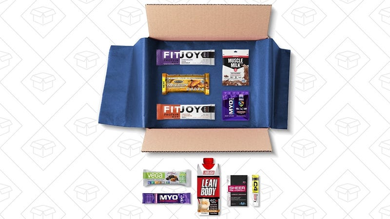 Protein Sample Box + $10 Protein Credit, $10