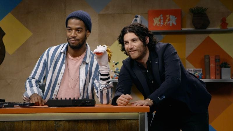 Kid Cudi, Cudi's Buddy, Adam Pally (IFC)