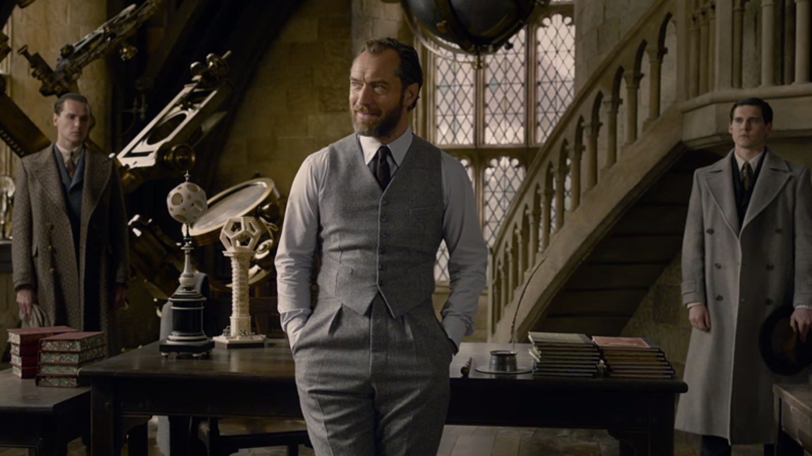 Dumbledore and Grindelwald Won't Share a Single Scene Together in Fantastic Beasts 2